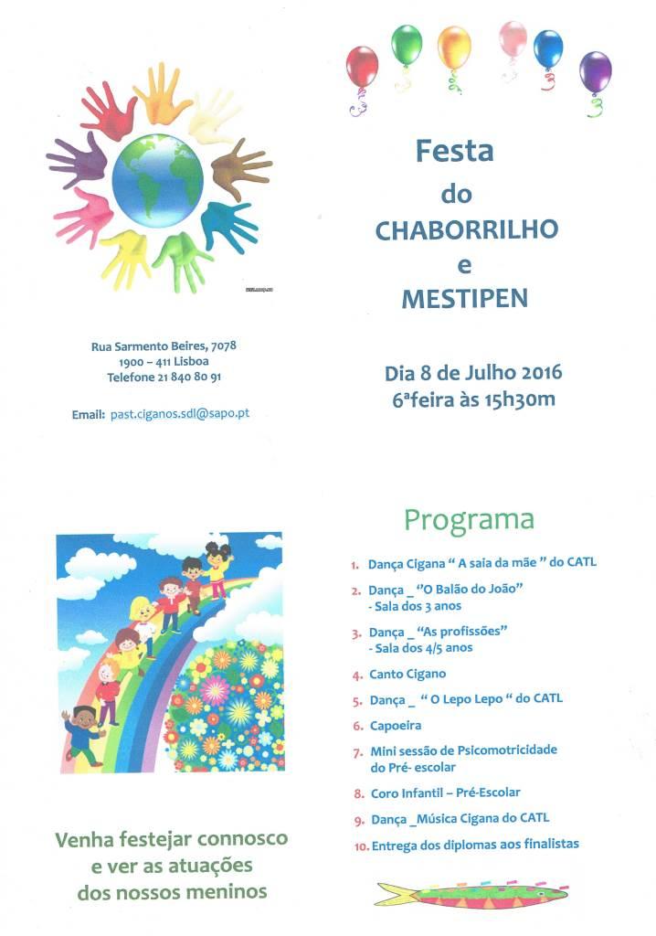 Festa do CHABORRILHO e do MESTIPEN