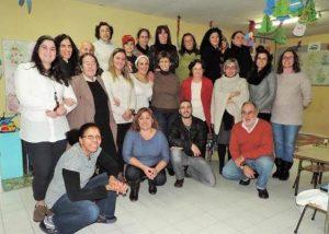 Participantes no Jantar de Natal